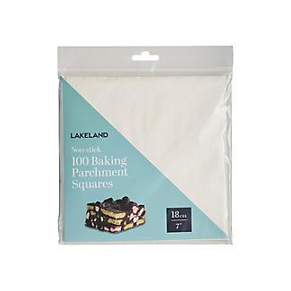 100 Baking Parchment Liner Paper Squares 18cm alt image 3