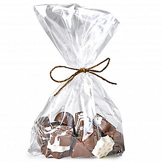 50 Clear Gusseted Presentation Gift Bags 20 x 28cm alt image 8