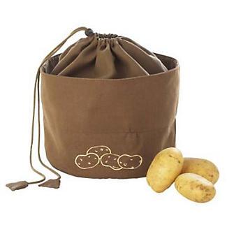 Kartoffel Aufbewahrungsbeutel, Braun