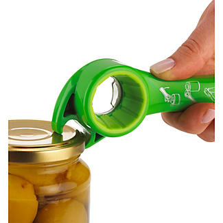 Zyliss 5 Way Bottle Opener - Green alt image 4