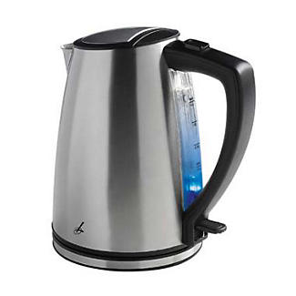Lakeland Brushed Stainless Steel Compact Kettle