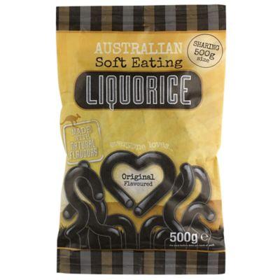 Australian Original Soft Eating Liquorice 500g Lakeland