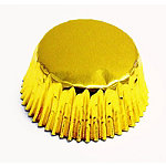 30 PME Greaseproof Cupcake Cases - Metallic Gold