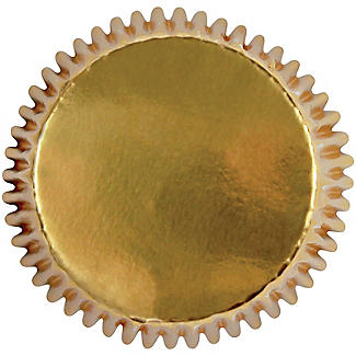 30 PME Greaseproof Cupcake Cases - Metallic Gold alt image 2