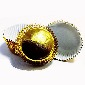 30 PME Greaseproof Cupcake Cases - Metallic Gold alt image 4
