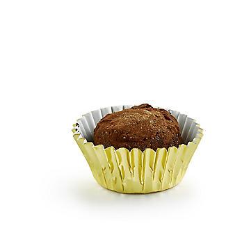 45 PME Greaseproof Mini Bon Bon Cake Cases - Metallic Gold