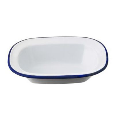 sc 1 st  Lakeland & Traditional Enamel 16cm Oblong Pie Dish Reviews | Lakeland
