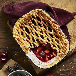 Traditional Enamel 26cm Oblong Pie Dish alt image 3