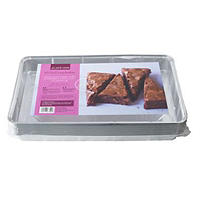 10 Disposable Foil Containers 32 x 19cm Traybake Baking Tin