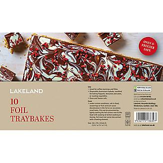 10 Foil Tray Bake Baking Trays 32 x 19cm alt image 4