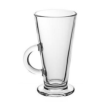 Coffee Shop Style Latte Glass 250ml alt image 1