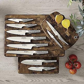 Global G-2 Stainless Steel Cook's Knife 20cm Blade alt image 5