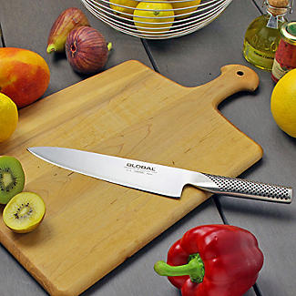 Global GSF-22 Stainless Steel Utility Knife 11cm Blade alt image 2