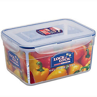 LocknLock Nestable Food Storage Container 4.4L alt image 4