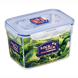 Lock & Lock Nestable Food Storage Container 2.4L alt image 4