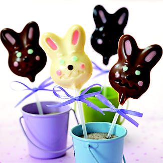 Chocolate Bunny Lolly Moulds alt image 2