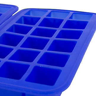 2 Silicone 18 Hole Ice Cube Freezer Trays  alt image 5