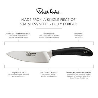 Robert Welch Signature Stainless Steel Cook's Knife 14cm Blade alt image 4