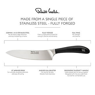 Robert Welch Signature Stainless Steel Cook's Knife 16cm Blade alt image 4