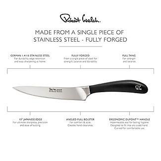 Robert Welch Signature Stainless Steel Kitchen Knife 12cm Blade alt image 4
