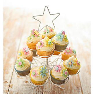 Star Swirly Cupcake Stand