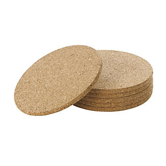 6 Cork Table Mats
