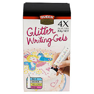 Glitter Writing Icing Set