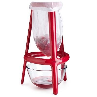 Jelly Amp Jam Strainer Stand With Bag Lakeland