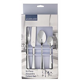 Lakeland Alexandra Cutlery 16pc Stainless Steel Gift Set