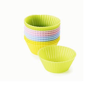 Lakeland 12 Mini Pastel Silicone Cupcake Cases