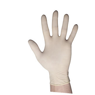 100 Large Disposable Latex Gloves