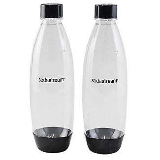 2 x 1 Litre plastic Carbonation Bottles