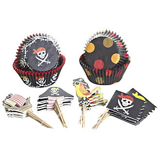Pirate Party Cupcake Kit alt image 2