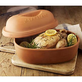 Glazed Terracotta Roaster alt image 2