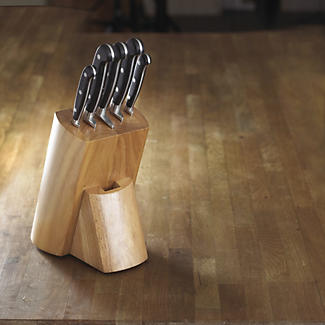 Lakeland Fully Forged Stainless Steel 5-Piece Knife Block alt image 2