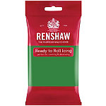 Renshaw Ready to Roll Coloured Icing - 250g Green