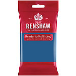 Renshaw Ready to Roll Coloured Icing - 250g Blue