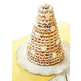 Kransekake Non Stick 6 Cake Ring Mould Tins alt image 2