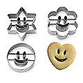Smiley Faces Cookie Cutters