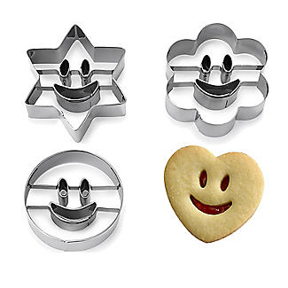Smiley Faces Cookie Cutters alt image 1