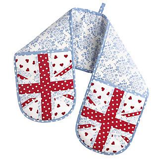 Britannia Floral Double Oven Gloves