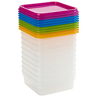 10 Stack a Boxes Food Storage Containers 400ml alt image 3