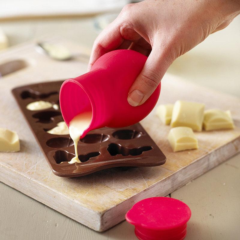 Silicone Microwave Chocolate Melting Pot Lakeland