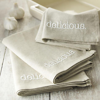 delicious. 3 Piece Tea Towel Set