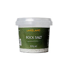 Lakeland Rock Cooking Salt For Salt Mills 320g