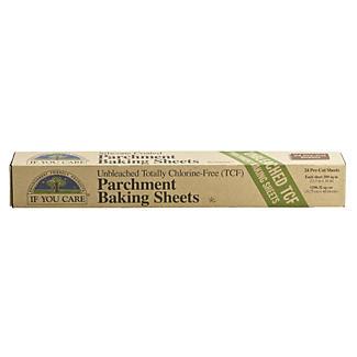 24 Unbleached Baking Parchment Paper Sheets 41cm x 32cm
