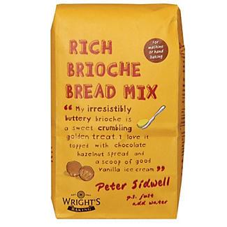 Wright's Rich Brioche Bread Mix x 5