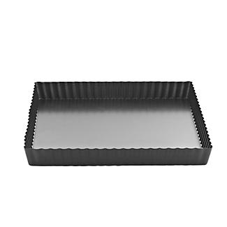 Square Loose Based Fluted Tart & Quiche Tin