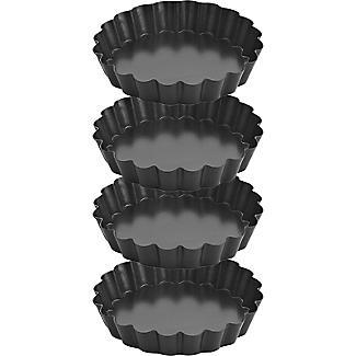 4 Small Tartlet Tins