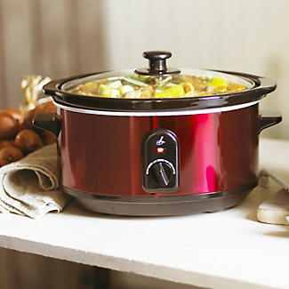 Lakeland Metallic Red 3.5 litre Slow Cooker